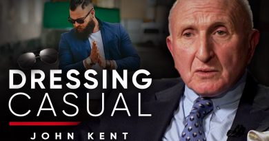 DRESSING CASUAL: The Savile Row Tailors Thoughts On Informal Clothing | John Kent On London Real