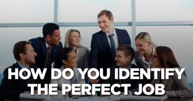 How Do You Identify the Perfect Job | Young Hustlers