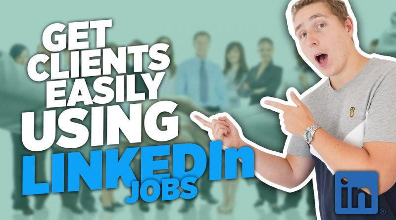 How To Get SMMA Clients on LinkedIn Jobs EASILY (Social Media Marketing Agency)