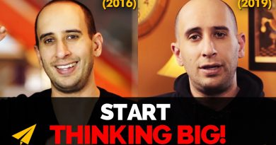 How to Start THINKING BIG & Change Your LIFE! | 2016 vs 2019 | #EvanVsEvan