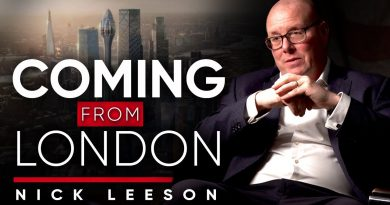 I WANTED TO PLAY FOOTBALL: Why This Ex-Banker Didn't Follow His Dreams   Nick Leeson on London Real