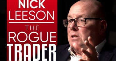 NICK LEESON - THE ROGUE TRADER: How One Man Lost £1 Billion & Bounced Back - Part 1/2 | London Real