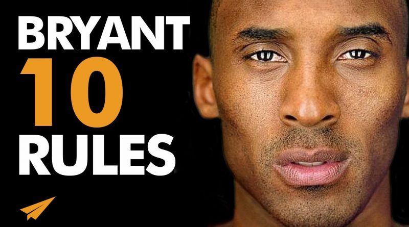 PUSH Through The PAIN! | Kobe Bryant | Top 10 Rules