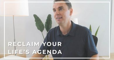 Reclaim Your Life's Agenda