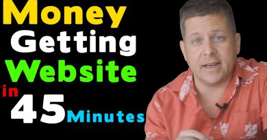 Set Up A Simple Money Getting Affiliate Site In 45 Minutes - Full Tutorial 2019