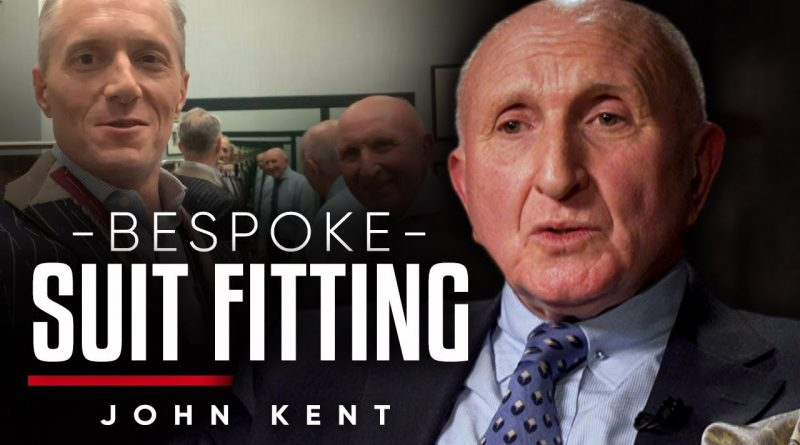 THE TRILLION DOLLAR SUIT: Brian Rose Bespoke Fitting W/ Dan Pena's Tailor | John Kent On London Real