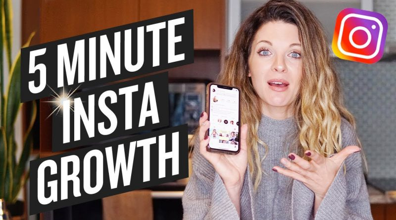 The 5 Minute Rule for Instagram Growth (Instagram Strategy)