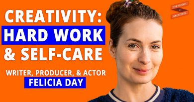 The Only Way You Know You're Alive is To Create | Felicia Day and Lewis Howes