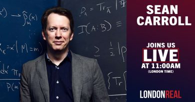 We Are LIVE With Theoretical Physicist SEAN CARROLL