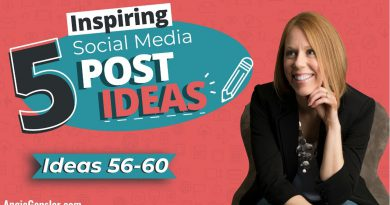 5 Inspiring Social Media Post Ideas [Ideas 56 - 60]