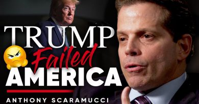 A DECLINING ECONOMY: Has Donald Trump Failed America? | Anthony Scaramucci On London Real