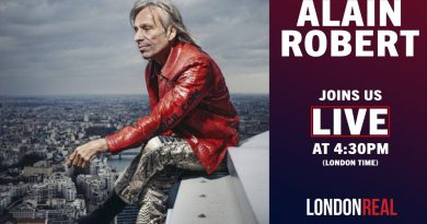 ALAIN ROBERT - 'The French Spiderman' Joins Us LIVE | London Real