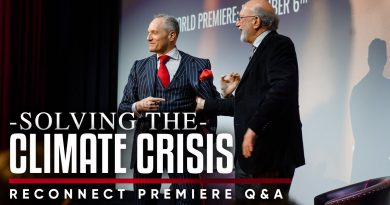 CLIMATE CHANGE: What Are The Solutions To Tackling The Crisis? | Reconnect London Premiere Q&A