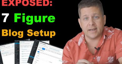 Exposed: My 7 Figure Wordpress Setup - Make Money Blogging