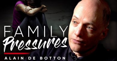 FAMILY PRESSURES: How To Get The Approval Of Your Parents   Alain De Botton On London Real