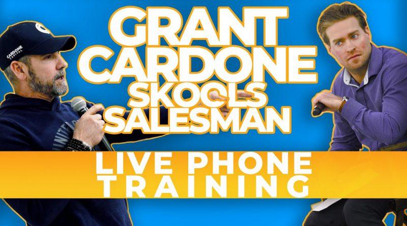 Grant Cardone takes Salesman back to School LIVE