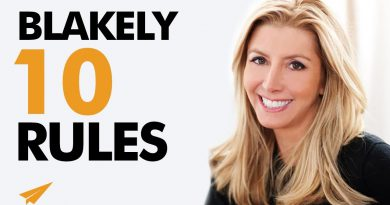 How to Build a BILLION-DOLLAR EMPIRE! | Sara Blakely | Top 10 Rules