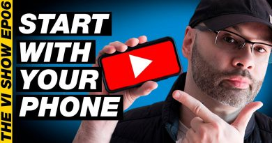 How to Start a YouTube Channel with a Smartphone: Apps, Accessories, and Tips #VIShow 06