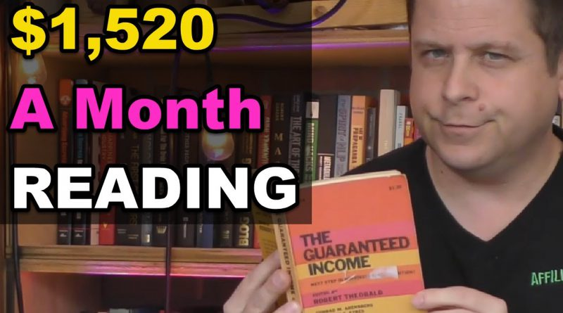 Make $1,524 Per Month Just Reading