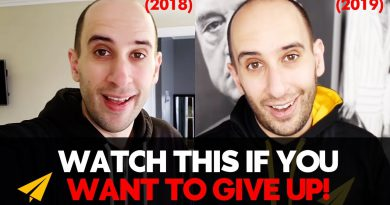 NEVER GIVE UP! | Should You KEEP GOING When It's HARD!? | 2018 vs 2019 | #EvanVsEvan