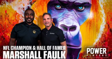 NFL Champion and Hall of Famer Marshall Faulk visits 10X Headquarters