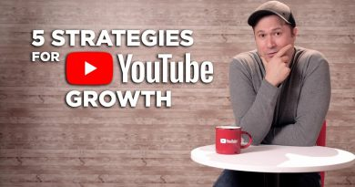 The 5 Strategies That Position You for Massive Growth on YouTube