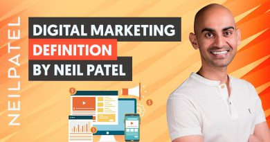 The Definition of Digital Marketing by Neil Patel