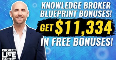 The ULTIMATE Knowledge Broker Blueprint Bonus Package! [$11,334 Value]