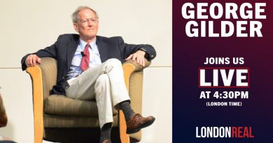 We are LIVE with GEORGE GILDER - American Investor, Writer, Economist | London Real