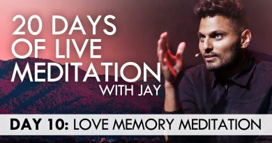 20 Days of Live Meditation with Jay Shetty: Day 10