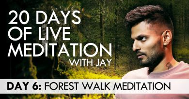 20 Days of Live Meditation with Jay Shetty: Day 6