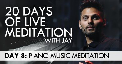 20 Days of Live Meditation with Jay Shetty: Day 8