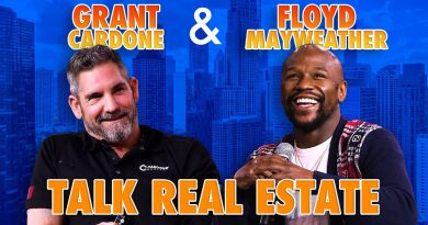 Grant Cardone asking Floyd Mayweather about his Real Estate