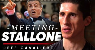 MEETING SYLVESTER STALLONE: Building The Best Physique Outside Bodybuilding - Jeff Cavaliere