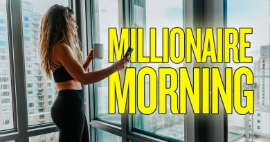 MY *NEW* MORNING ROUTINE (MILLIONAIRE MORNING)