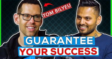 Tom Bilyeu : ON Breaking Negative Thought Patterns & Stop Being Lazy About Your Growth