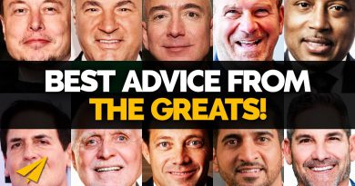 Top 10 BEST ADVICE for New ENTREPRENEURS | Elon & Kimbal, Bezos, O'Leary & More | #BelieveLife