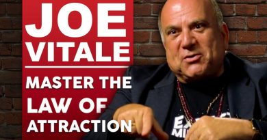 DR JOE VITALE - MASTER THE LAW OF ATTRACTION - Part 1/2  | London Real