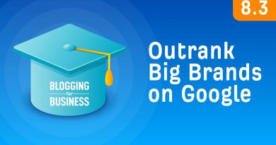 How to Compete With Big Brands in Google [8.3]