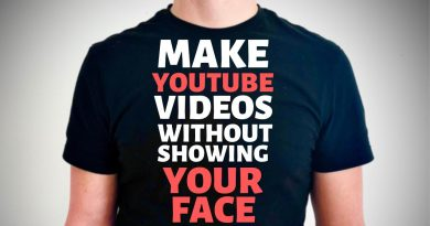 How to Make YouTube Videos Without Showing Your Face on Camera