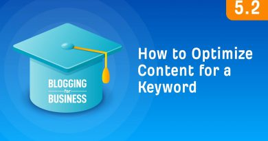 How to Optimize Your Content For Your Target Keyword [5.2]