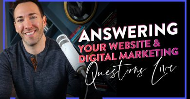 Live Q&A: Answering ALL Your Website & Digital Marketing Questions!