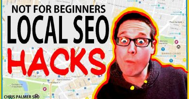 Local SEO -NOT For Beginners 2020