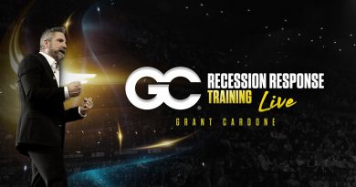 Recession Response Training LIVE! with Grant Cardone at 5pm EST