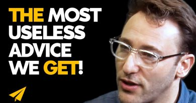 STOP Asking Yourself THIS STUPID QUESTION! | Simon Sinek | #Entspresso