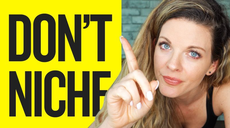 STOP NICHING DOWN (DO THIS INSTEAD)