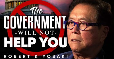THE GOVERNMENT WON'T HELP YOU WITH CORONAVIRUS: How To Save Yourself From COVID-19 | Robert Kiyosaki