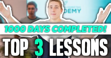 1,000+ Days Running an Agency - My Top 3 Lessons! (SMMA)