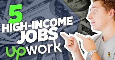 5 HIGH PAYING Work From Home Jobs on Upwork - Make Money Online (Freelancing)