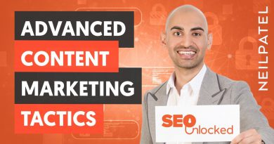 Advanced Content Marketing Tactics - Content Marketing Part 1 - Lesson 2 - SEO Unlocked